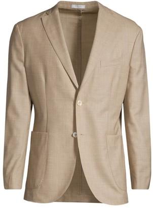 Boglioli Plain-Weave Wool Jacket
