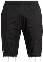 Vetements X Reebok slim-leg raw-edge track shorts