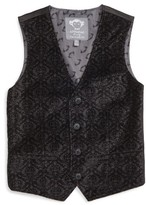 Appaman Toddler Boy's Tailored Jacquard Vest