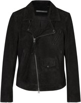 Tiger Of Sweden Zuko Fringed Suede Biker Jacket