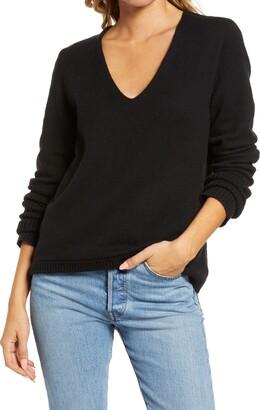 Treasure & Bond V-Neck Sweater