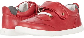 Bobux I-Walk Ryder (Toddler) (Red/Charcoal) Kid's Shoes