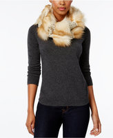 INC International Concepts Knit and Faux-Fur Loop, Only at Macy's