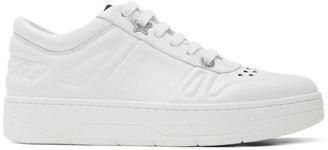 Jimmy Choo White Hawaii/F Sneakers