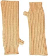 Marni Zip Detailed Wool English Rib Fingerless Mitten Scarves
