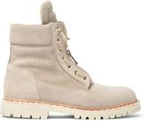Balmain Suede Desert Boots