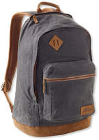 L.L. Bean Classic Teardrop Waxed-Canvas Backpack