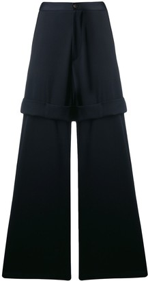 Societe Anonyme Double wide leg trousers