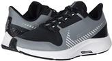 Nike Air Zoom Pegasus 36 Shield (Little Kid/Big Kid) (Cool Grey/Silver/Black/Vast Grey) Kids Shoes