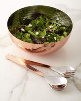 Godinger Copper Salad Bowl with Servers