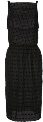 À La Garçonne Polka Dots Dress
