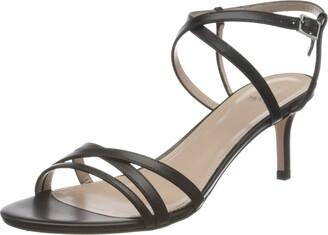HUGO BOSS Women's Sienna 60-c Ankle Strap Sandals