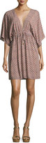 Tory Burch Gabriella Beach Coverup Dress, Multi