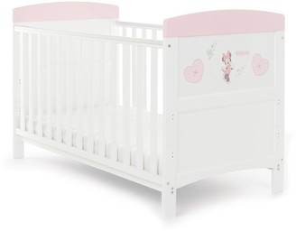 Minnie Mouse Cot Bed - Hearts