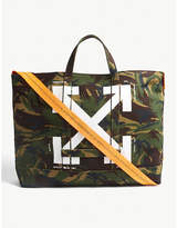 Off-White Camouflage canvas tote
