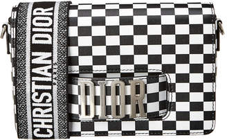 Christian Dior J'adior Mini Checkered Leather Crossbody