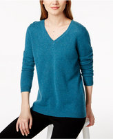 Charter Club V-Neck Cashmere Sweater, Only at Macy's