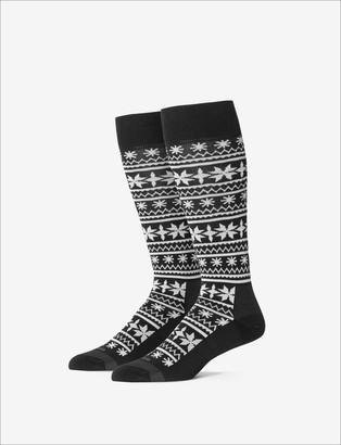 Tommy John Stay-Up Dress Sock, Print
