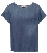 AG Jeans Women's Megan Denim Pocket Tee