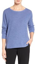 Eileen Fisher Women's Fine Merino Wool Boxy Sweater