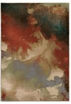 Orian Blotch Multi-color Rug