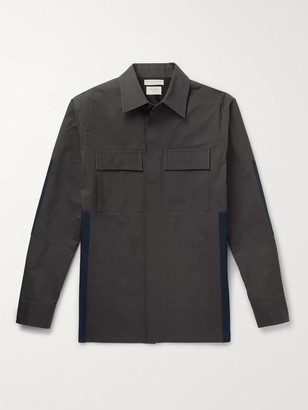 Bottega Veneta Panelled Cotton Overshirt