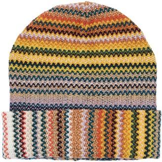 Missoni Zig Zag Lurex & Wool Hat