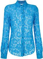 Moschino lace blouse - women - Polyamide/Rayon - 38