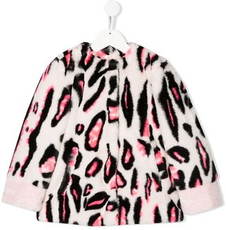 Billieblush Leopard-Print Coat