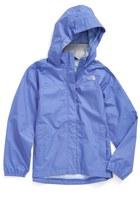 The North Face 'Resolve' Waterproof Rain Jacket (Little Girls & Big Girls)