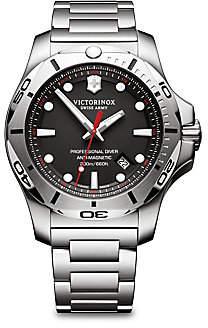 Victorinox Men's Inox Pro Diver Black Dial Stainless Steel Bracelet Watch