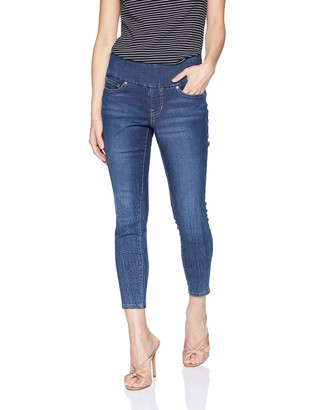 Jag Jeans Women's Petite Nora Skinny Ankle Pull On Jean