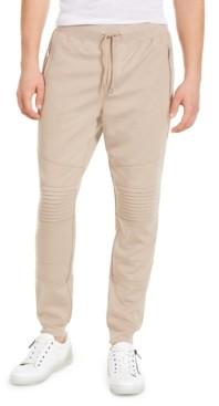 INC International Concepts Inc Men's Knit Moto Jogger Pants, Created for Macy's