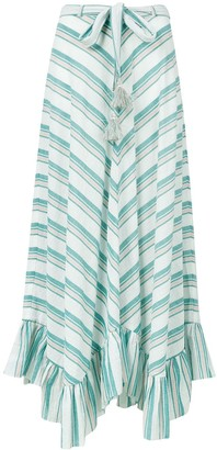 Zimmermann Striped Maxi Skirt