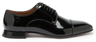 Christian Louboutin Derbytoto Patent-leather Shoes - Black