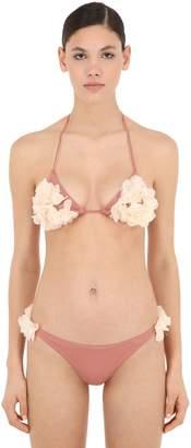 La Reveche Shayna Lycra Triangle Bikini