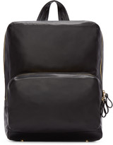 Pierre Hardy Black Leather Backpack