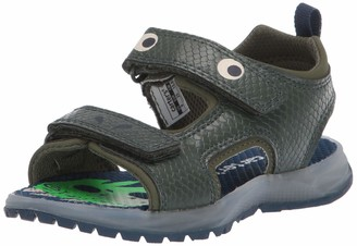 Carter's Boys' Cade Hook and Loop Light-up Sandal