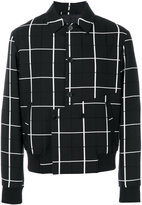 McQ by Alexander McQueen check jacket - men - Cotton/Viscose/Wool/polyester - 48