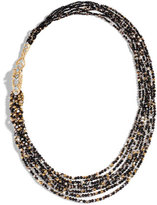 John Hardy Legends Naga Beaded Necklace with Diamonds