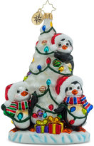 Christopher Radko We Three Penguins Collectible Ornament