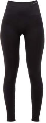 Falke Warm Technical Jersey Footless Tights - Womens - Black
