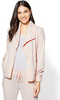 New York & Co. Open-Front Shawl-Collar Jacket