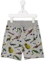 Stella McCartney stickers print Josh shorts - kids - Cotton - 2 yrs
