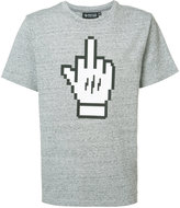 Mostly Heard Rarely Seen Middle Finger T-shirt - men - Cotton - S