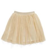 Truly Me Gold Shimmer Tutu Skirt (Toddler Girls & Little Girls)