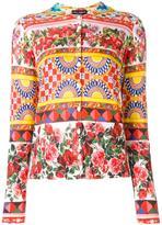 Dolce & Gabbana Mambo print cardigan - women - Silk - 36