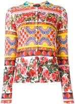 Dolce & Gabbana Mambo print cardigan - women - Silk - 38