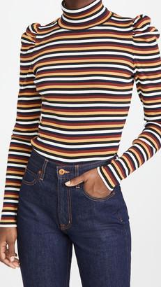 Veronica Beard Jeans Cedar Turtleneck