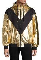 Versace Metallic Blouson Jacket
